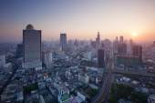 Beautiful city scape urban scene  of bangkok capital of thailand — Stock Photo