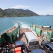TRAD THAILAND -OCT 30  : ferry boat take trip from Koh Chang Isl — Stock Photo #72887907