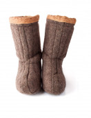 Pair of Russia Related Boots — Stock Photo