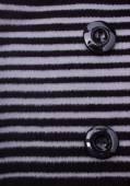 Fragment of Striped Coat — Stock fotografie
