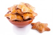 Star Shaped Cookies — Stock Photo