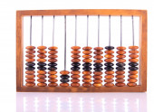 Old-Fashioned Calculator — Stock Photo