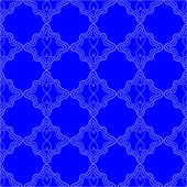 Bright Blue Seamles Pattern background — Stock Vector