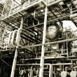 Oil and gas refinery details — Stock Photo #53802397