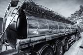 Fuel and oil trucking industry — Photo