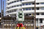 Surveying, engineering and construction industry — Stock Photo