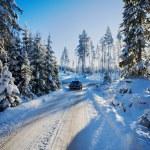 Swedish winter landscape — Stock Photo #63314733