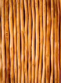 Vertical View of Decorative Cutting Eucalyptus wood — Stock Photo