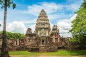 Historic Prasat Hin Phimai Castle at Nakhon Ratchasima Province, — Stock Photo