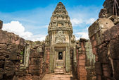 Historic Prasat Hin Phimai Castle at Nakhon Ratchasima Province, — Stock Photo