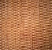 Fundo decorativo do artesanato marrom tecer textura vime s — Stockfoto