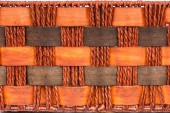 Background of brown handicraft weave texture surface — Stock Photo