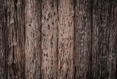 Old wood texture decorative fence wall surface — Stock Photo