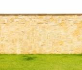 Couleur de modèle de mur de pierre décoratif de style moderne design — Photo