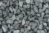 Grey granite gravel background for mix concrete — Stock Photo