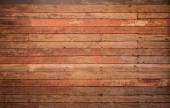 Pattern detail of old red wood strip texture — Stok fotoğraf