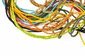 Barevné lano z moruše papíru — Stock fotografie