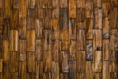 Padrão de cor da superfície decorativa de madeira teca — Fotografia Stock
