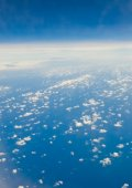 View of a clouds  — Stock Photo