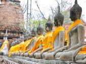 Eski Buda heykeli — Stok fotoğraf