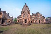 Phanom Rung historical park — Stock Photo