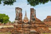 Wat Phra si sanphet at Ayutthaya, Thailand — Stock Photo