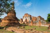 Wat Phra si sanphet w Ayutthaya, Tajlandia — Zdjęcie stockowe