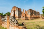 Wat Phra si sanphet at Ayutthaya, Thailand — Stock Photo