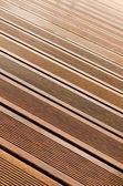 Wood stripe texture on decorative surface floor — Stock Photo