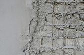 Reinforced concrete walls within the styrofoam — Stock Photo