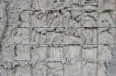 Paredes de betão armado dentro do isopor — Fotografia Stock