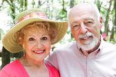 Portrait - Senior Couple — Stock Photo