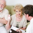 Couples Counseling - Seniors — Stock Photo #54198261