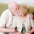 Affectionate Husband Consoling Wife — Stock Photo #54198291