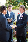 Gay Couple Married at Last — Stock Photo