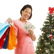 Christmas Shopping - Big Spender — Stock Photo #58825889
