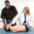 Adult Ed - CPR One on One — Stock Photo #66088023