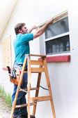 Yüklenici önlemler pencere — Stok fotoğraf