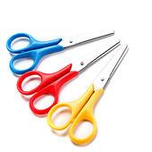 Scissors on white background. — Stock Photo