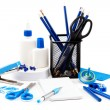 Office and school accessories. Back to school. — Stock Photo #52941493