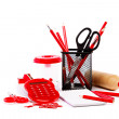 Office and school accessories. Back to school. — Stock Photo #52941581