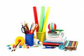 School and office supplies. Back to school. — Stock Photo