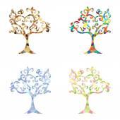 Tree Logo — Stock Photo