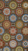 Antique japanese paper pattern — Stock Photo