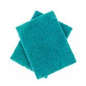 Sponge for washing dish on white background — Stockfoto