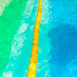 Yellow buoy floating in the water — Stock Photo #60109145