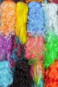 Hairpiece colorful — Stockfoto