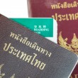 Passport Thailand for travel concept background — Photo #64559499
