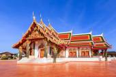 """Temple names """"Pra That Cherng Chum"""", Sakonnakhon Thailand — Stock Photo"""