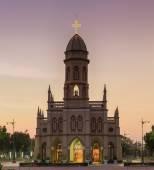 """Christian Church names """"Wat Pra Visuthiwong"""" in Thailand, taken  — Photo"""
